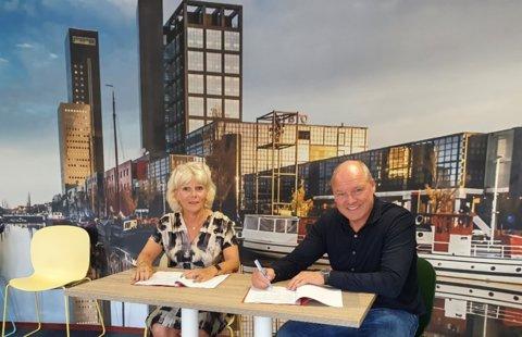 ondertekening IKW Wiarda